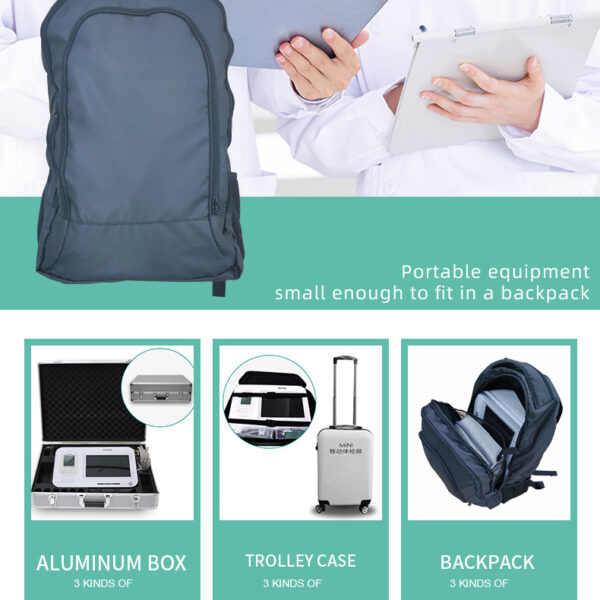 Advance Clinical Multiparameter Vital Signs Monitor Blood Testing Equipments Portable Ce Approve